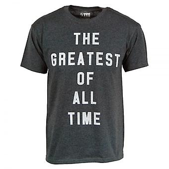 Muhammad Ali Muhammad Ali Greatest Of All Time T Shirt Black Heather
