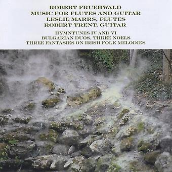 Marrs/Trent - Robert Fruehwwald: Musikk for fløyter & gitar [DVD] USA import