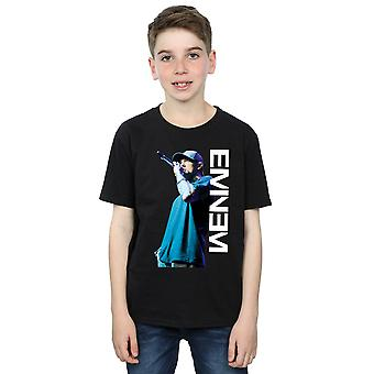 Eminem Boys Mic Pose T-Shirt