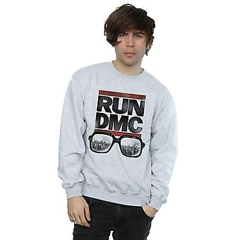 Run DMC Men's Logo Glasses Sweatshirt