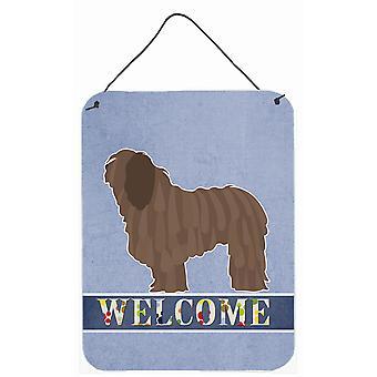 Bergamasco Shepherd Welcome Wall or Door Hanging Prints