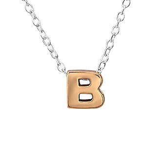 B - 925 Sterling Silver Plain Necklaces - W31025X