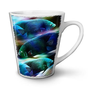 Space Fish Galaxy Animal NEW White Tea Coffee Ceramic Latte Mug 12 oz | Wellcoda
