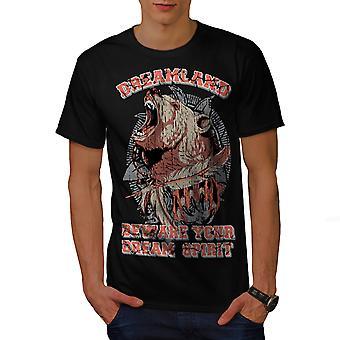 Dreamland Grizzly BlackT koszul   Wellcoda