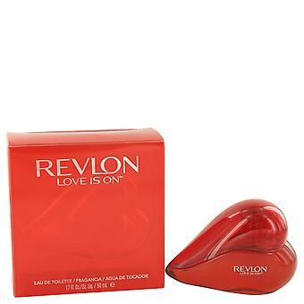 Revlon liefde Is op Eau de Toilette 50ml EDT Spray