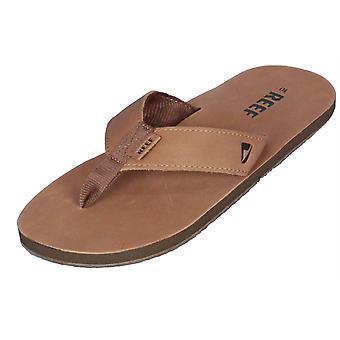 Riff Mens Premium Leder Sandale ~ Leder Smoothy