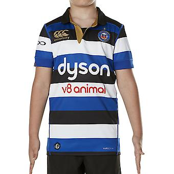 Canterbury Boys Bath Vapodri lyhythihainen Home Pro Rugby Jersey Top