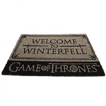 Game of Thrones Doormat Winterfell
