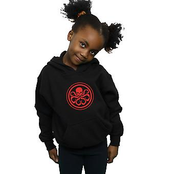 Maravilha meninas Hydra Logo Hoodie