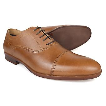 Red Tape Hadlow Tan Leather Formal Mens Shoes