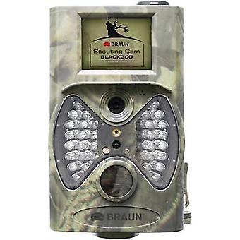 Braun Niemcy Scouting Cam Wildlife kamery 12 MP Czarne diody LED, Pilot Kamuflaż
