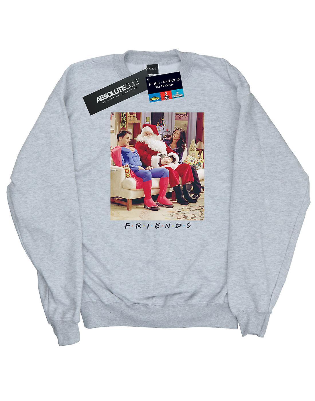Friends Women's Superman And Santa Sweatshirt