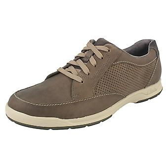 Mens Clarks Casual Lace Up Shoes Stafford Park 5