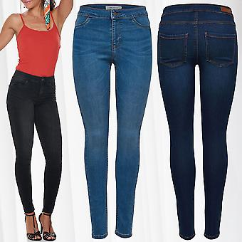 JDY Womens Jeggings Skinny Jeans Pants Regular Waist JDYELLA L30 L32 Only XS-XL