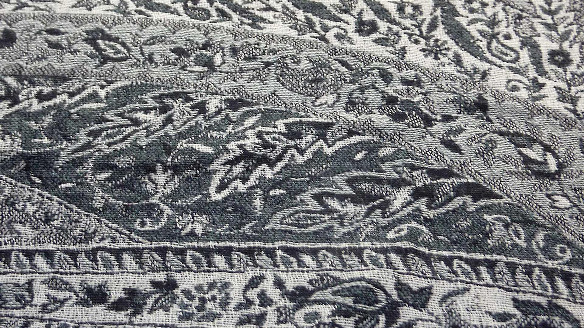 Muffler Scarf 9243 in Fine Pashmina Wool Heritage Range by Pashmina & Silk