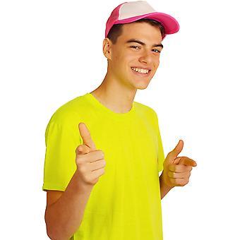 Hårpynt Baseball cap Neon Hot Pink