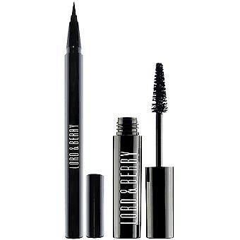 Lord & Berry Waterproof Mascara & Eyeliner Duo Kit - Black