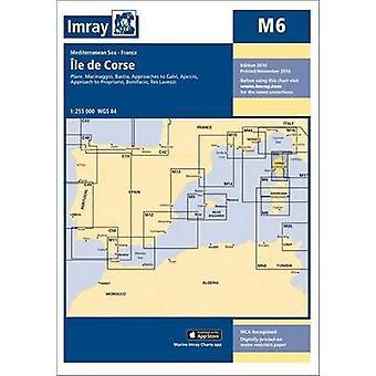 Imray Chart M6 - Ile de Corse by Imray - 9781846238574 Book