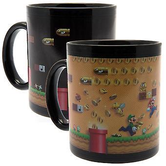 Super Mario officiel chaleur changeant Mug