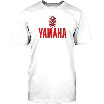 Yamaha Tuner logo-mahtava biker Miesten T-paita