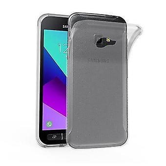 Cadorabo Case for Samsung Galaxy Xcover 4 case case cover - Flexible TPU Silicone Phone Case - Silicone Case Protective Case Ultra Slim Soft Back Cover Case Bumper