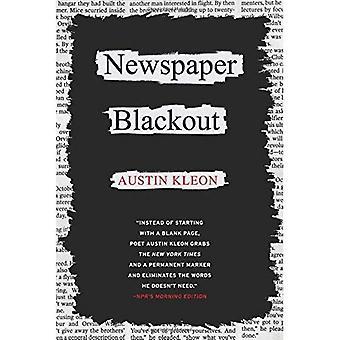 Zeitung-Blackout