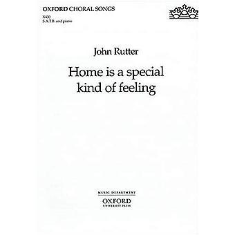 Home est un type spécial de sentiment: depuis le vent dans les saules: chant, piano