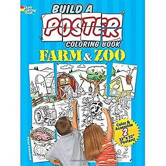 Ferme & Zoo (construire un livre à colorier affiche) (construire une affiche Coloring Book)