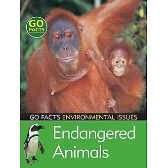 Truede dyrearter (gå fakta: miljø)