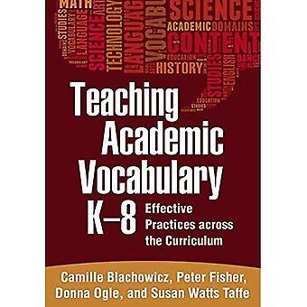 Onderwijs academische woordenschat, K-8