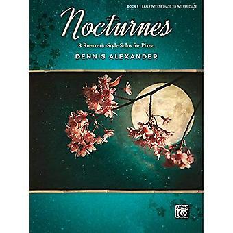 Nocturnes, Bk 1:8 romantisk stil solon för Piano