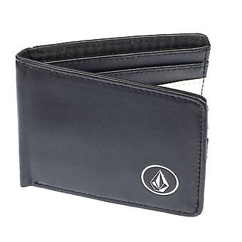 Volcom Wallet with CC and Note sections ~ Corps blk