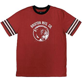 Brixton Freemont T-Shirt Red