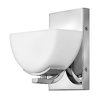 Stead-1 Light Wall Light-polished Chrome Finish-HK/VERVE1 BATH