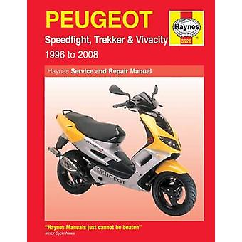 Peugeot Speedfight - Trekker (TKR) and Vivacity Service and Repair Ma