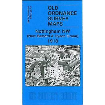 Nottingham NW 1913 - Nottinghamshire Sheet 38.13 by Ron Blake - 978184