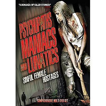 Psychopaths Maniacs & Lunatics: Sinful Female [DVD] USA import