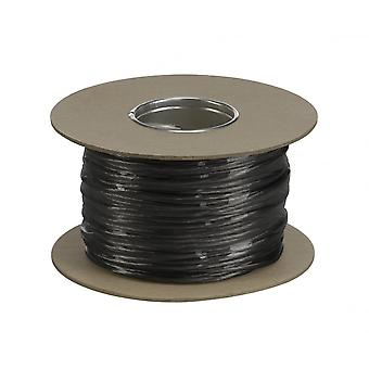 SLV Low-Voltage Cable, For Tenseo Low-Voltage Cable System, Black, 4mm, 100M
