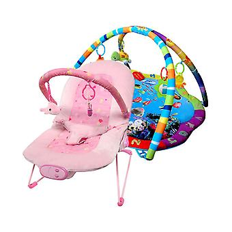 LaDiDa Baby Gym and Babysitter Pink Ocean Star package Offer