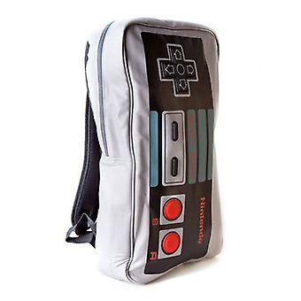 NINTENDO ORIGINAL Big Original NES Controller Backpack Grey/Black (85461NTN)