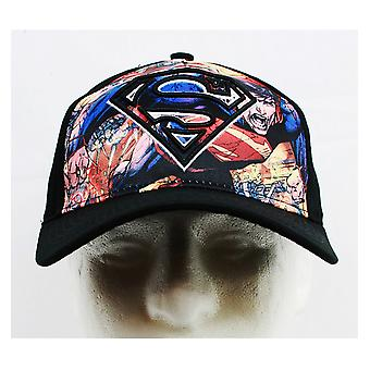 Baseball Cap - DC Comics - Superman Black (Youth/Kids) New SM1868-B