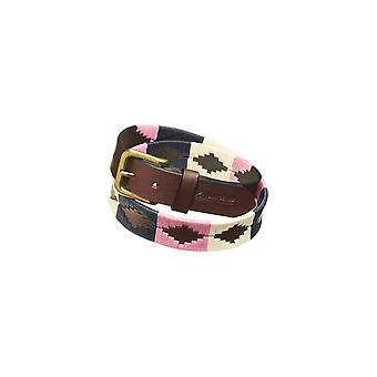 Pampeano Dulce Leather Polo Belt Pink