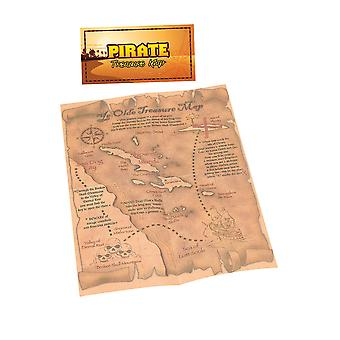 Bristol Novelty Pirate Treasure Map