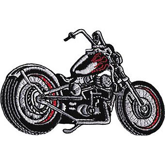 Patch - Automoblies - Black Chopper Iron On Gifts New Licensed p-3866