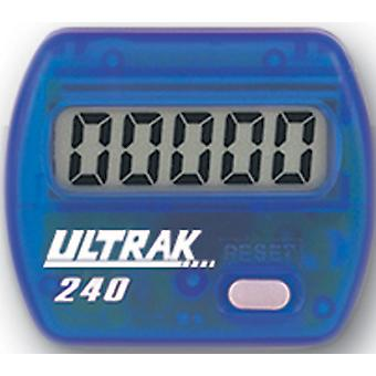 Ultrak 240 - Electronic Step Counter Pedometer - Blue