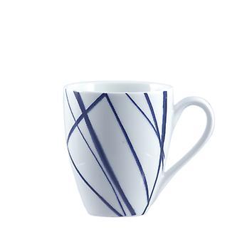 Rose & Tulipani Nador Blue Mug Lines