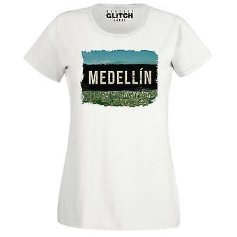 Γυναίκες ' s Μεντελίν Pablo Εσκομπάρ t-shirt