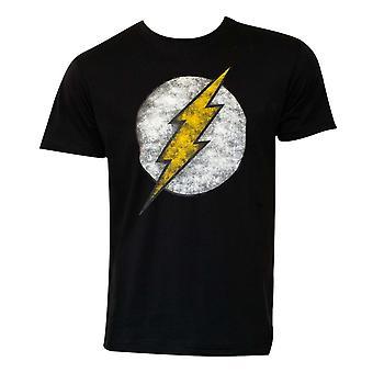 Flash näköiseksi musta t-paita