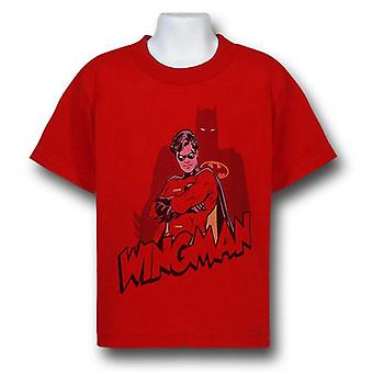 Robin ist Batman's Wingman Kinder T-Shirt