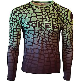 Dokebi Jungle Long Sleeve BJJ Rashguard - Green